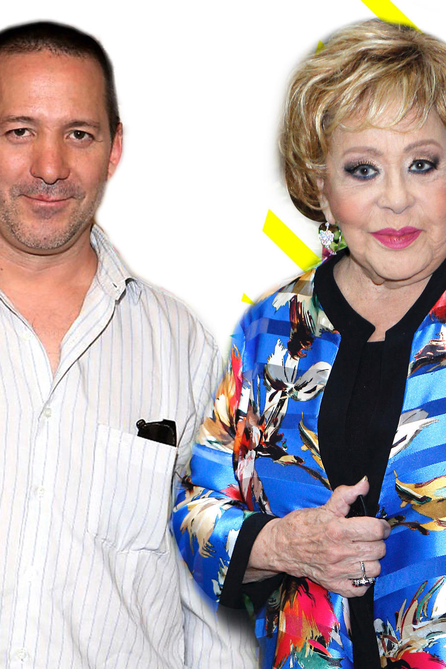 Luis Enrique Guzmán y Silvia Pinal