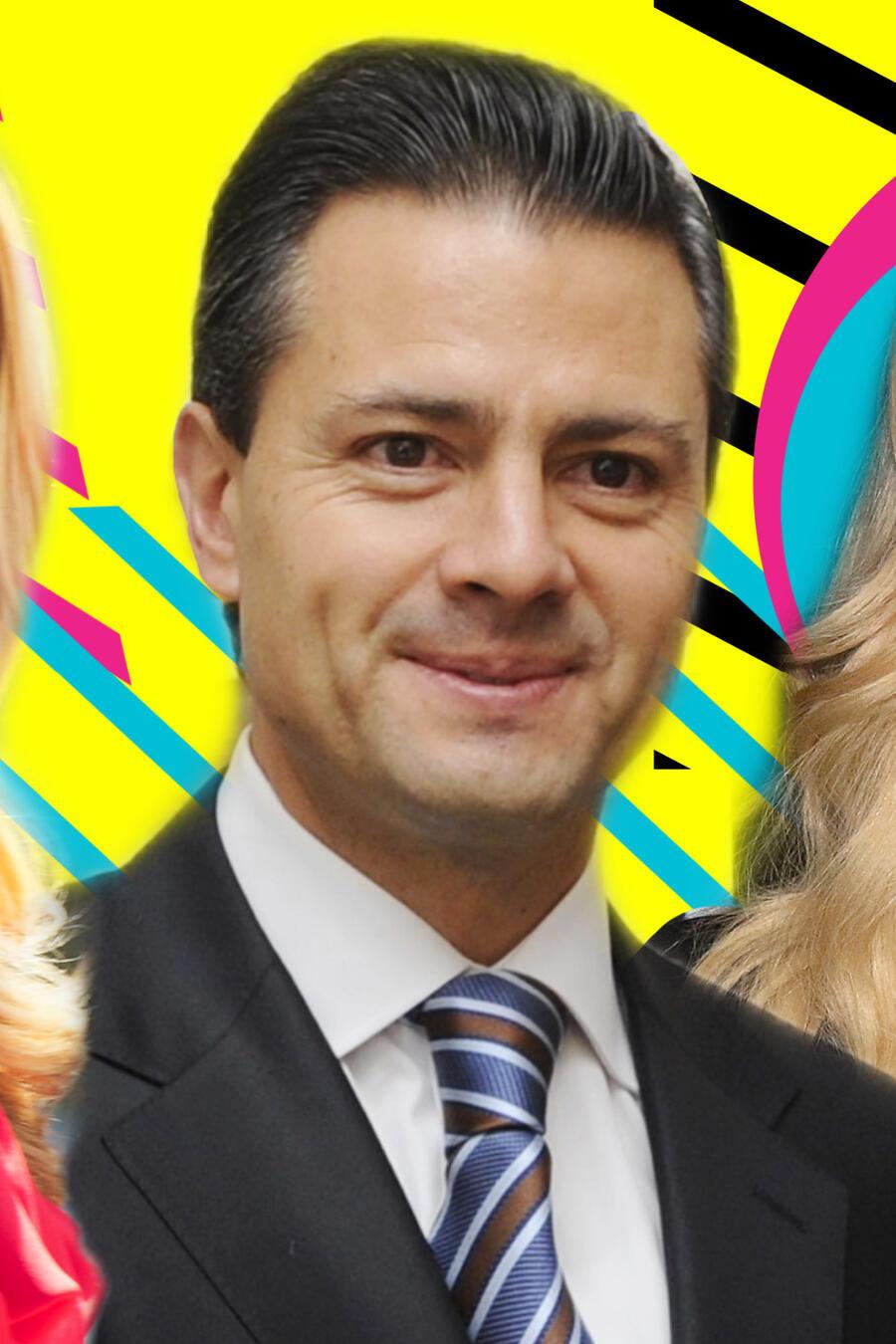 Angélica Rivera, Enrique Peña Nieto y Tania Ruiz