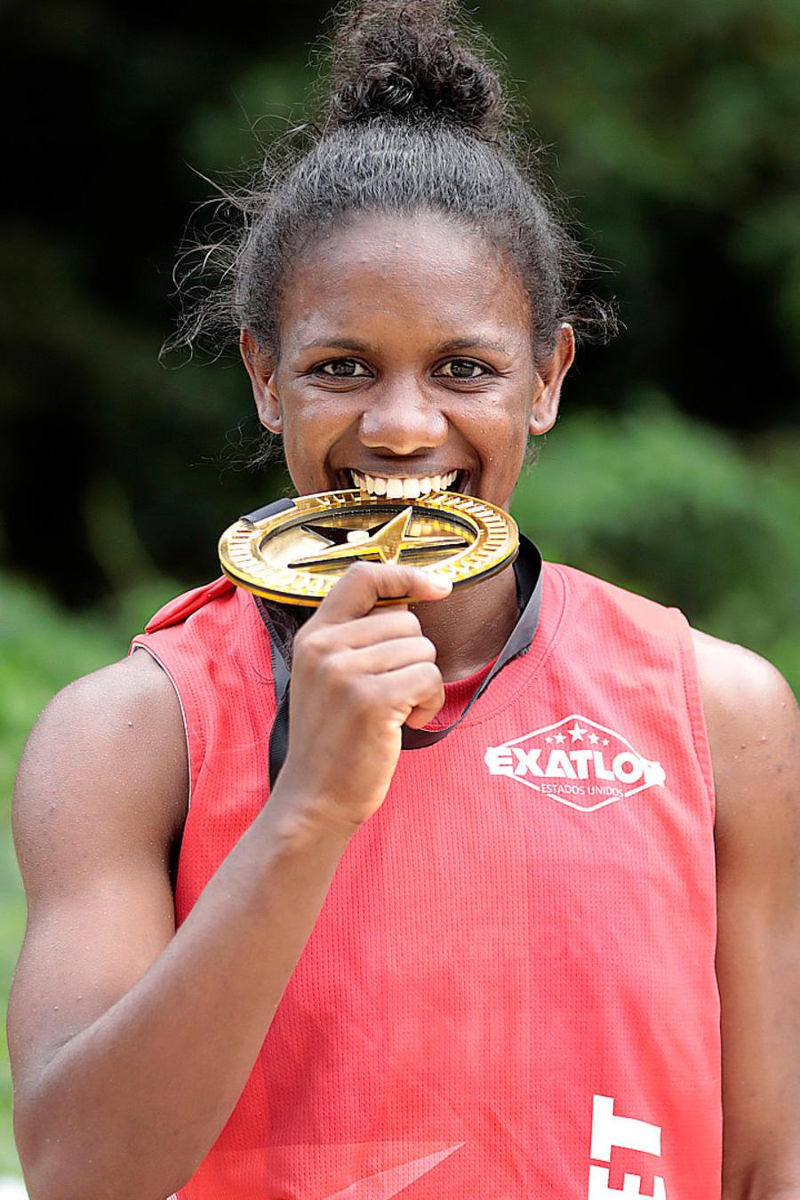 Yamilet muerde su primera medalla de salvoconducto