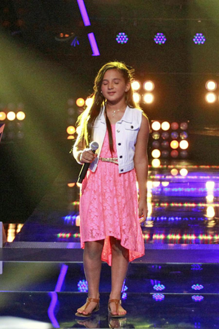 Martha, Eric y Ariana en las batallas de La Voz Kids