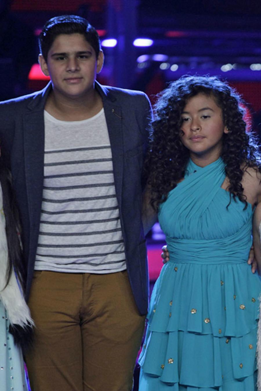 Team Rubio en la semifinal de La Voz Kids