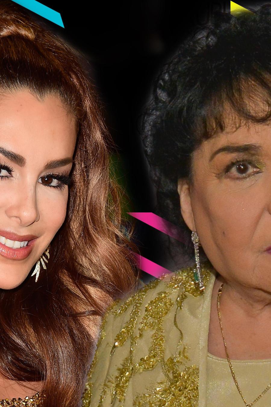 Ninel Conde y Carmen Salinas