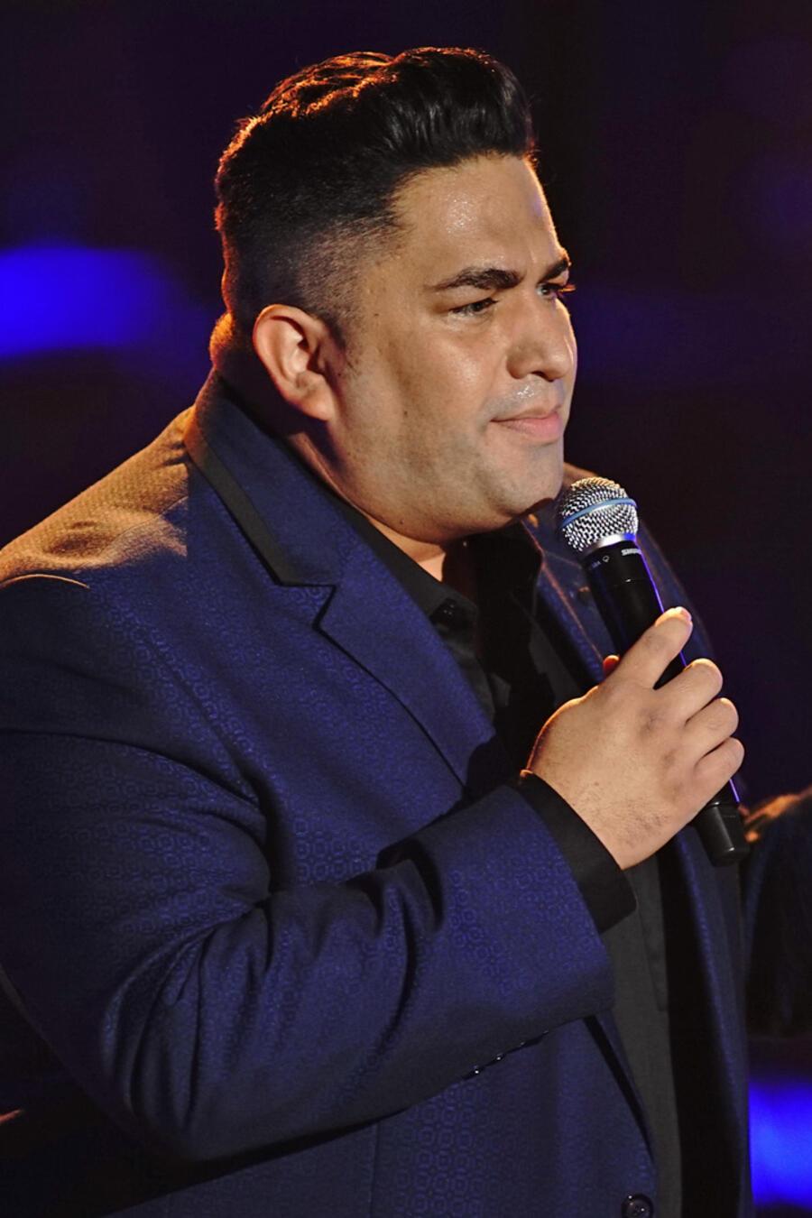 Arturo Guerrero en los enfrentamientos de La Voz US 2