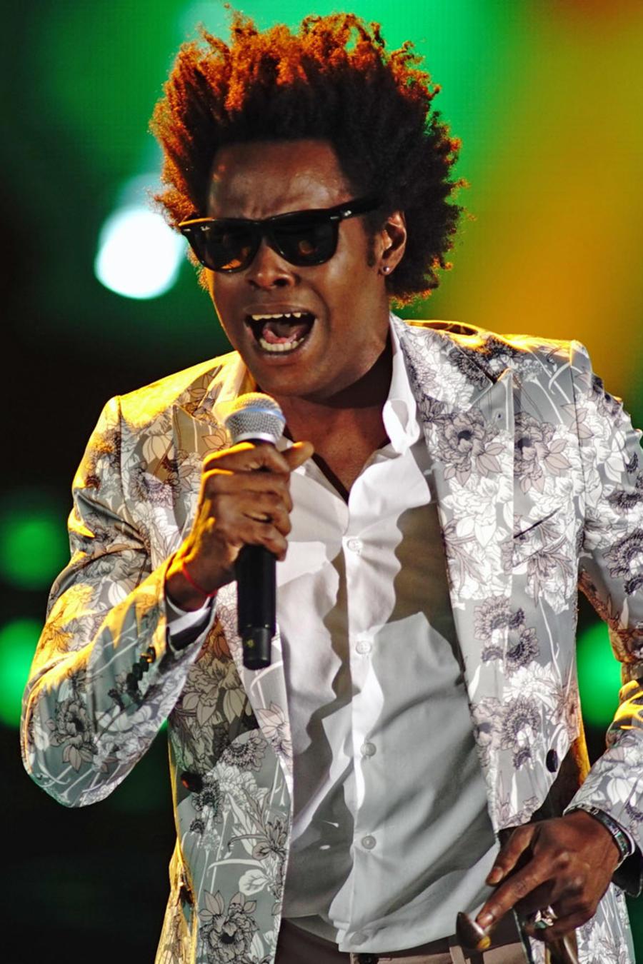Albin St. Rose en la semifinal de La Voz US 2