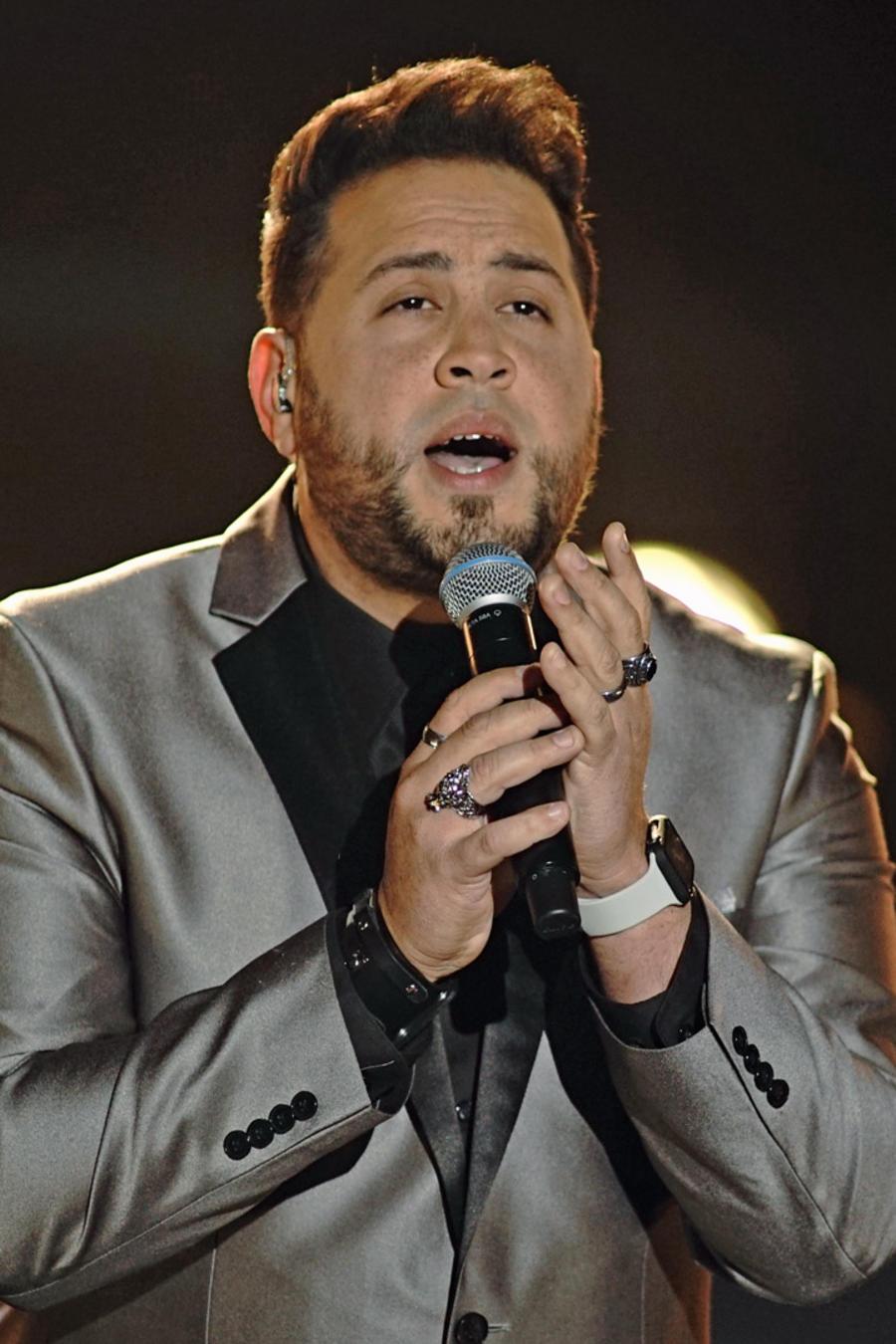Sammy Colon en la semifinal de La Voz US 2