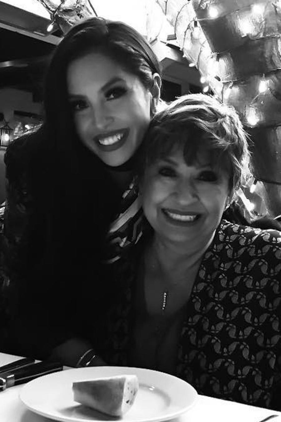 Sofia Laine y Vanessa Bryant