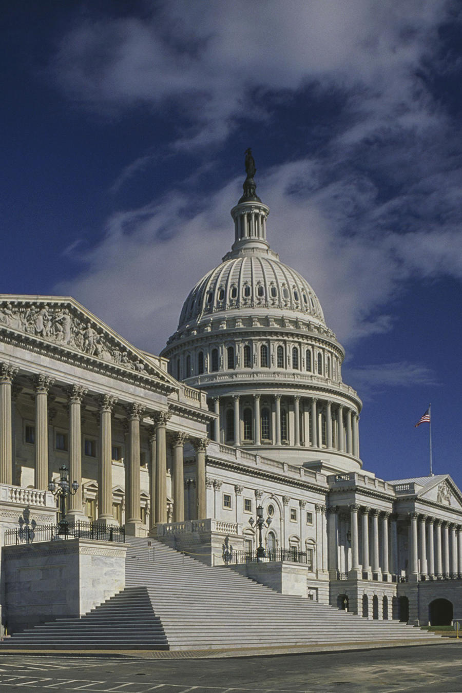 El edificio del Capitolio, sede del Congreso de Estados Unidos en Washington D.C.