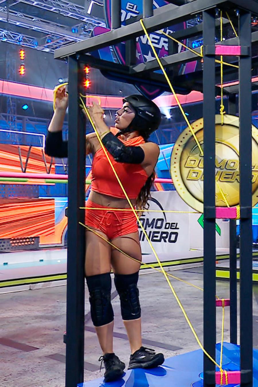 Circuito Veloz, episodio 7, El Domo del Dinero, Daniela vs Metzli