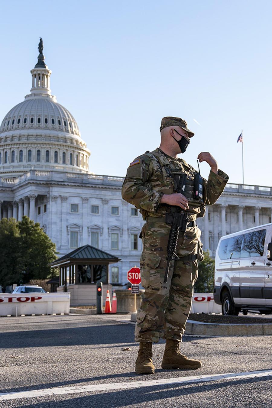 La Guardia Nacional refuerza la seguridad del Capitolio