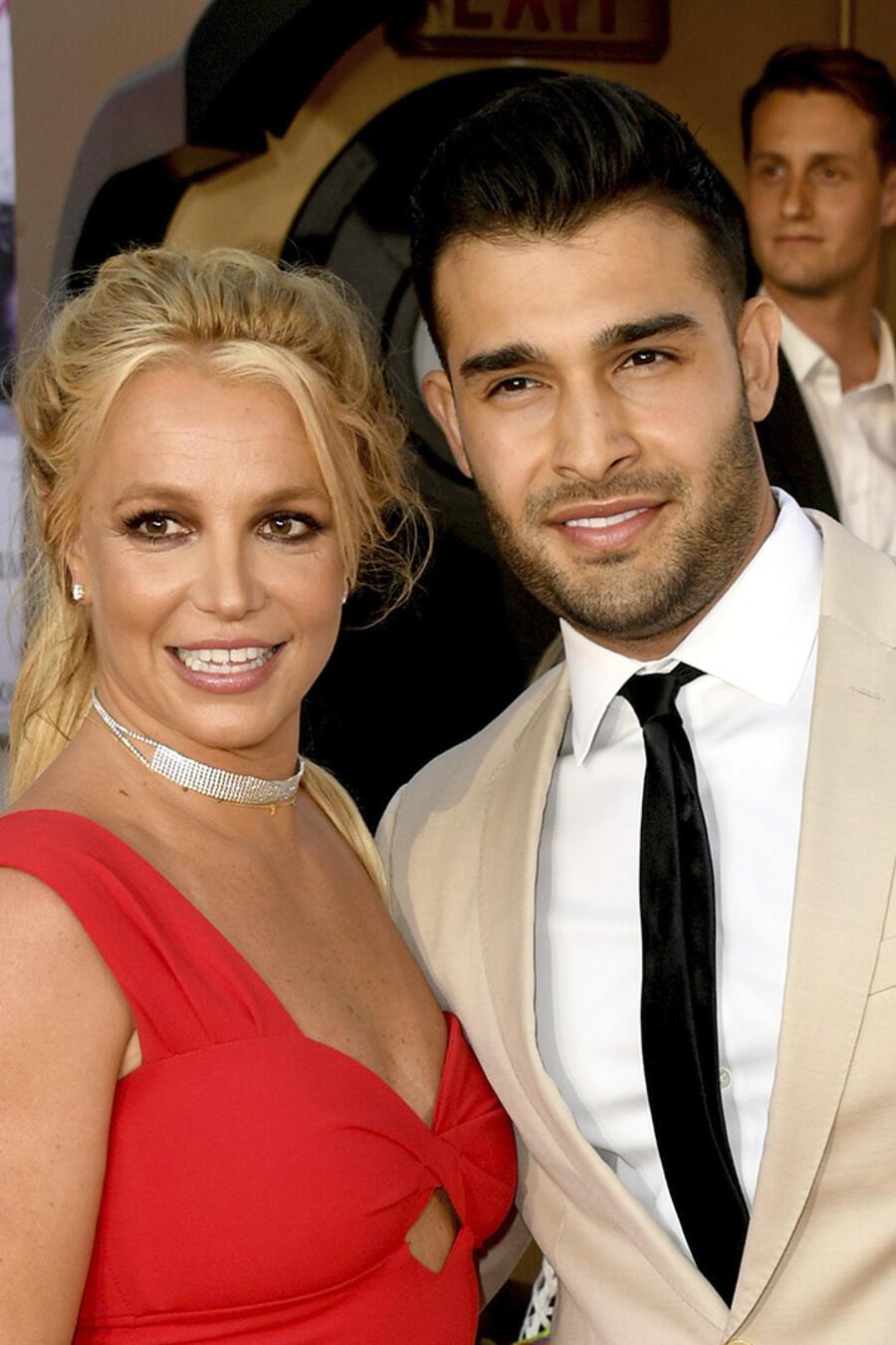 Britney Spears y su novio