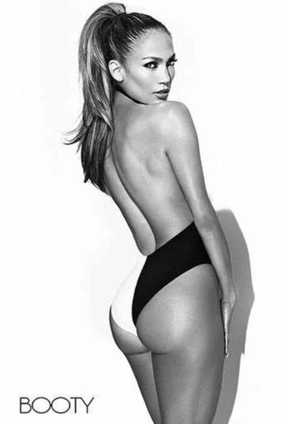 "Jennifer Lopez desnuda en portada de sencillo ""Booty"""