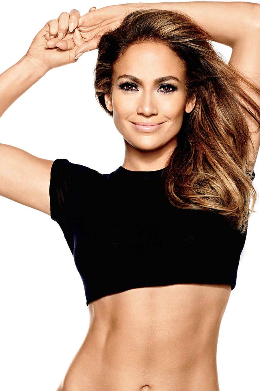 Jennifer Lopez models for Bodylab and Endless **USA ONLY**