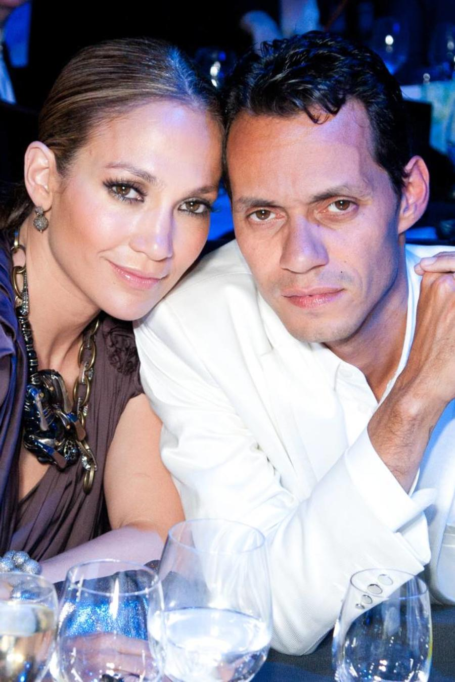 Jennifer Lopez y Marc Anthony, Neon Charity Gala 2010
