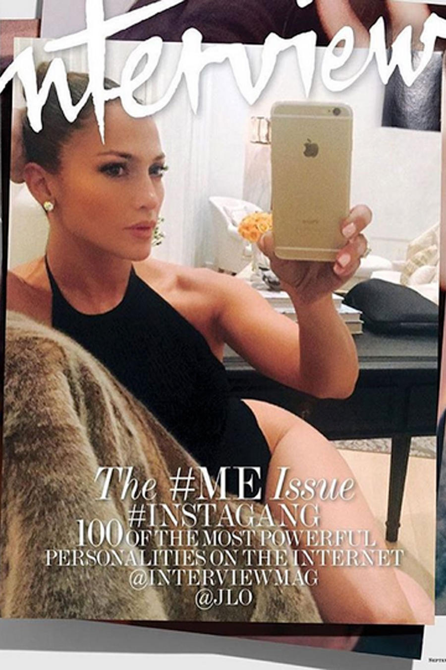 Jennifer Lopez para la revista Interview