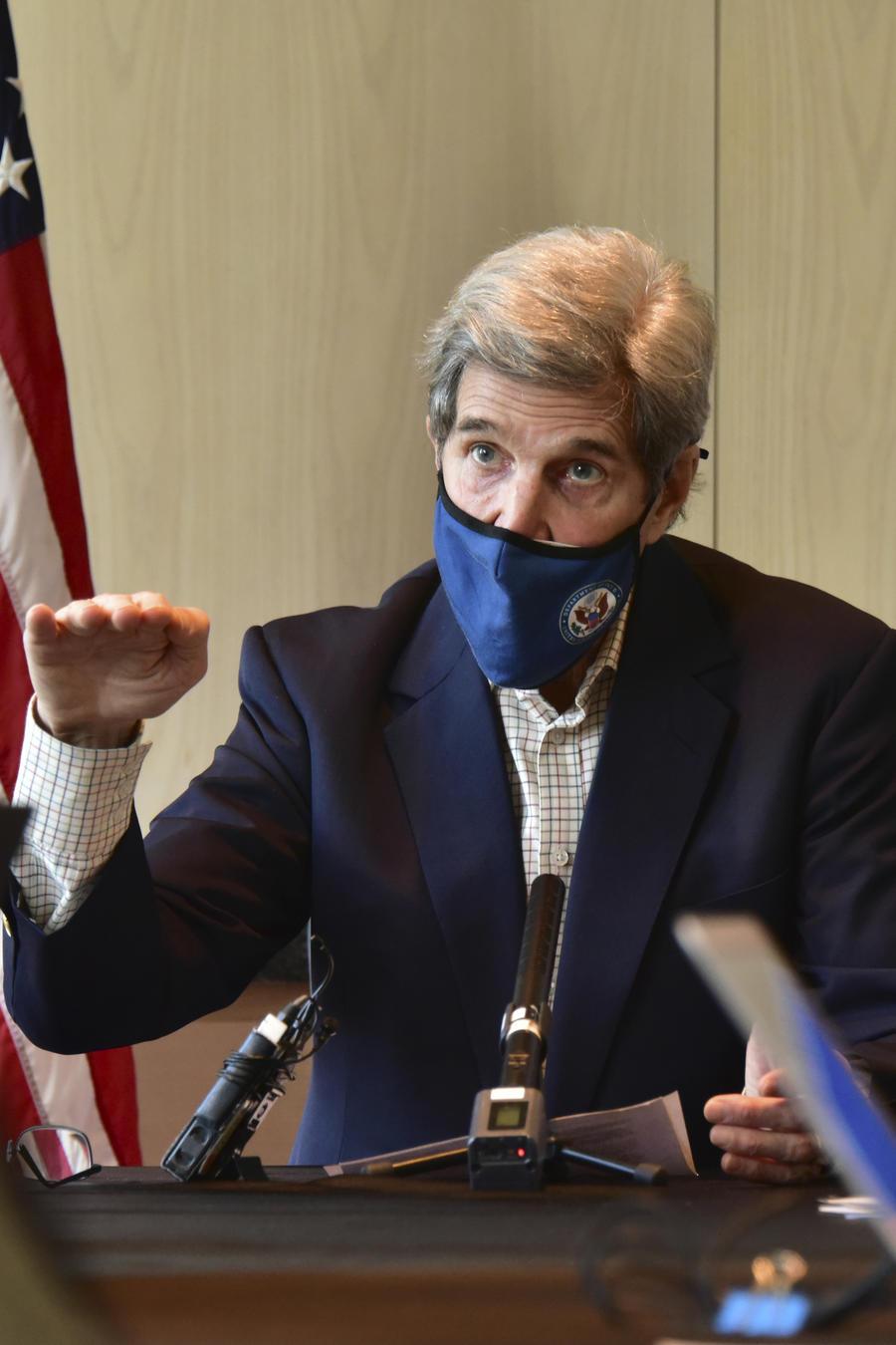 El enviado especial de Estados Unidos para el clima, John Kerry