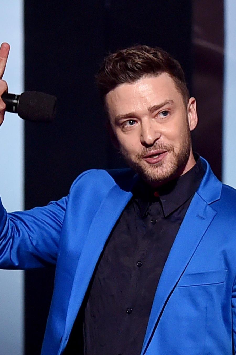 Justin Timberlake en el 2015 iHeartRadio Music Awards