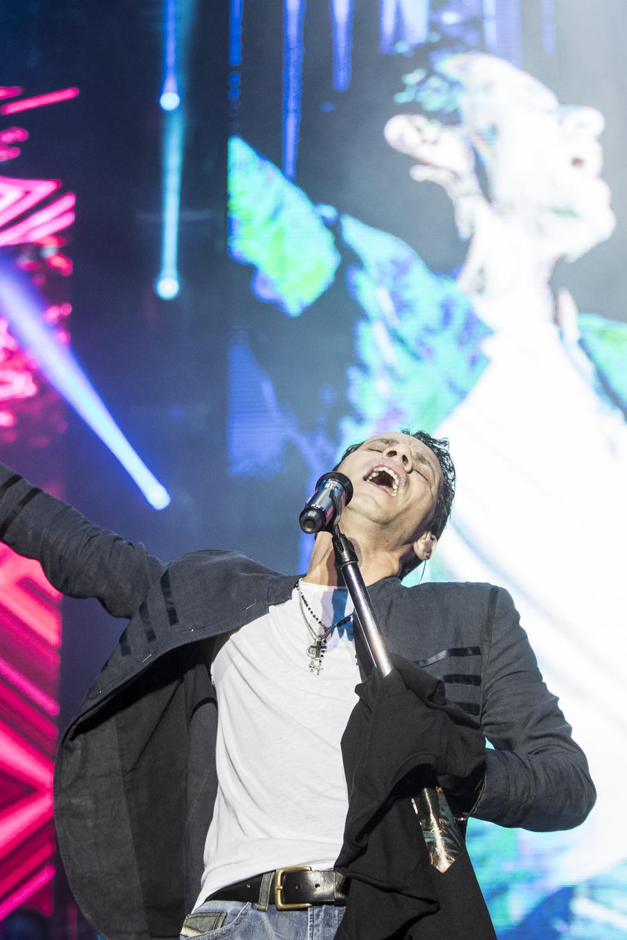 Marc Anthony Performs in Concert in Barcelona