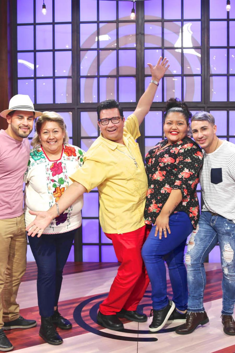 Elige a tu participante favorito de MasterChef Latino 2