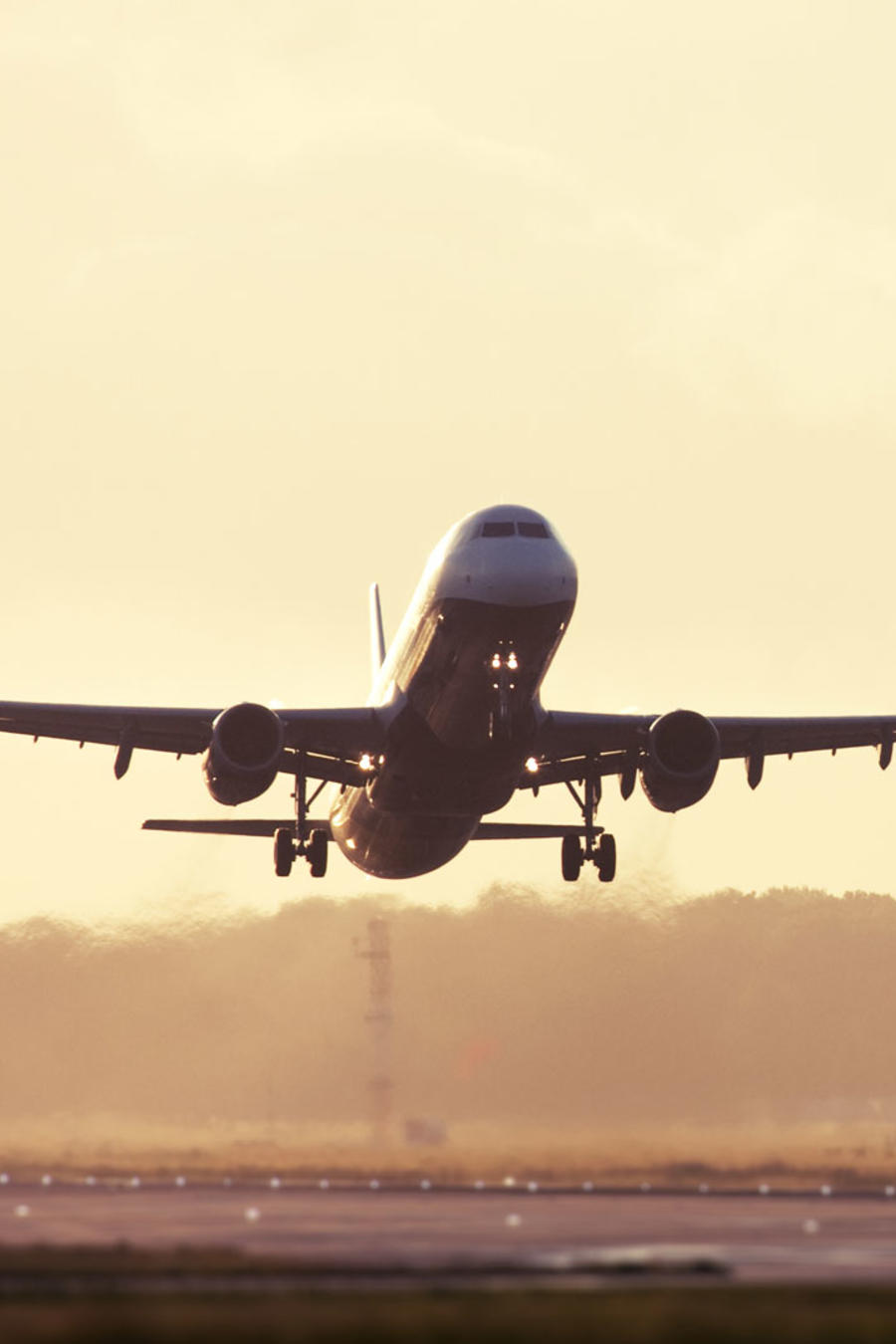mejores aeroineas avion despegando