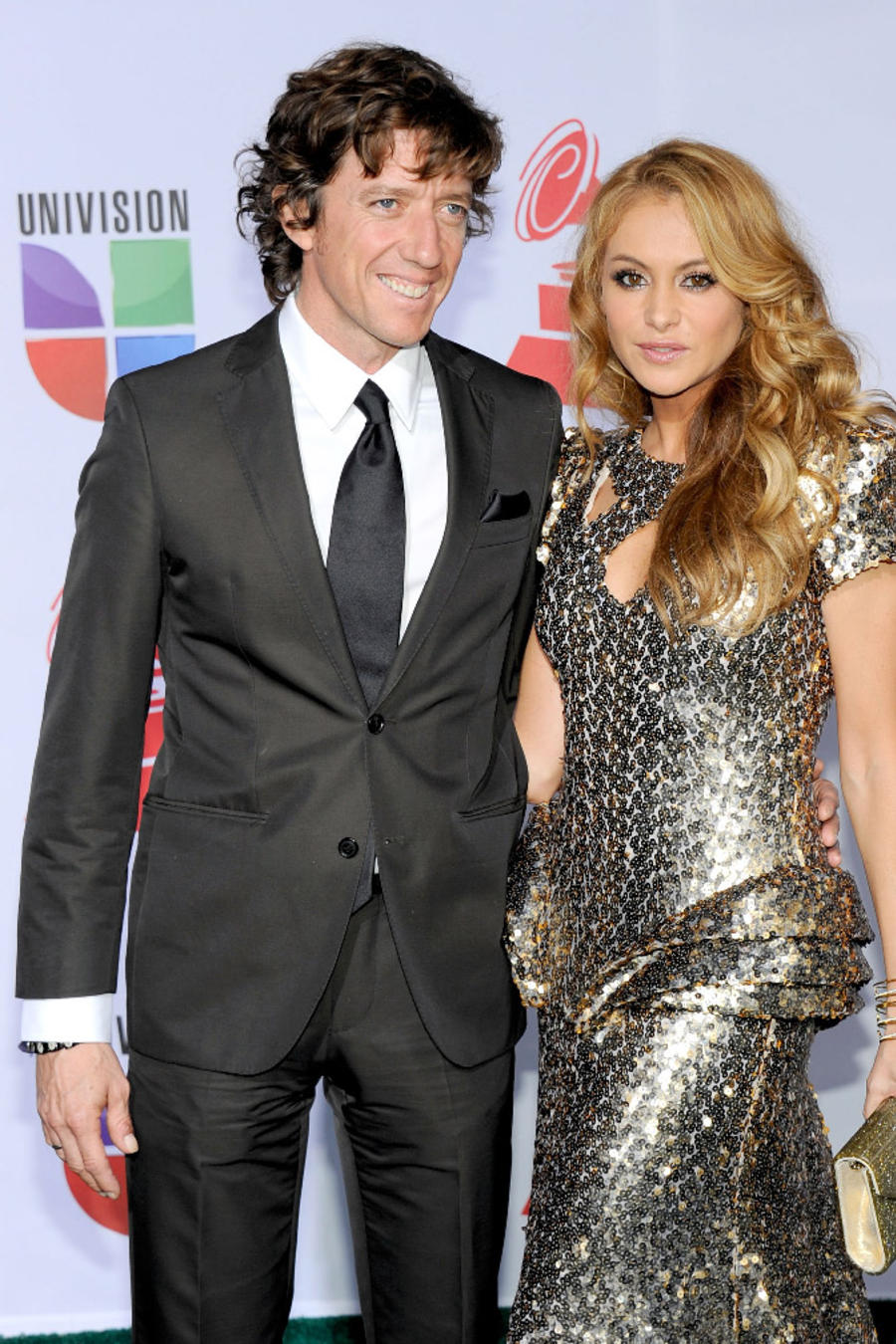 Paulina Rubio with Nicolas Vallejo
