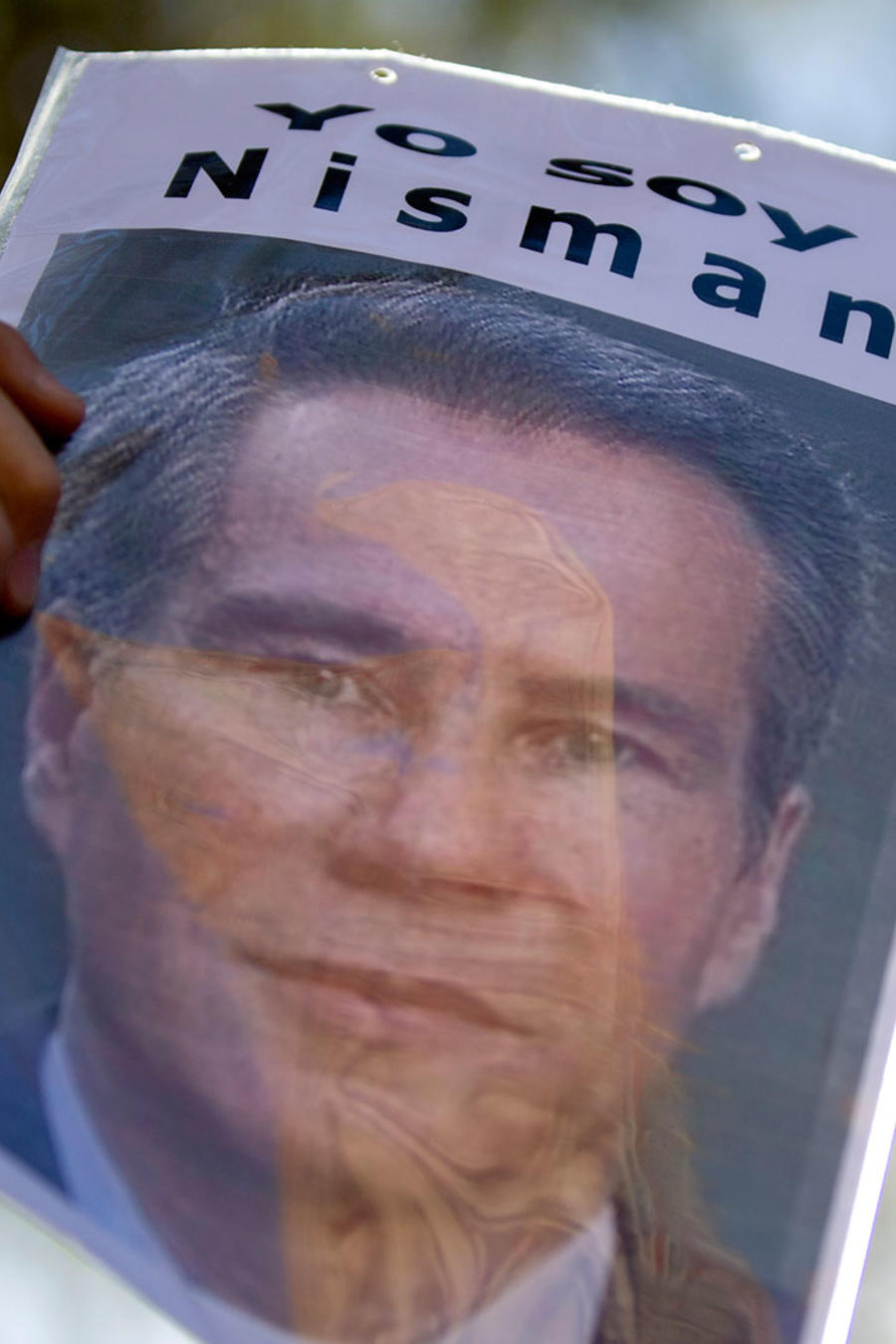 Manifestación reclama la verdad sobre la muerte de Alberto Nisman