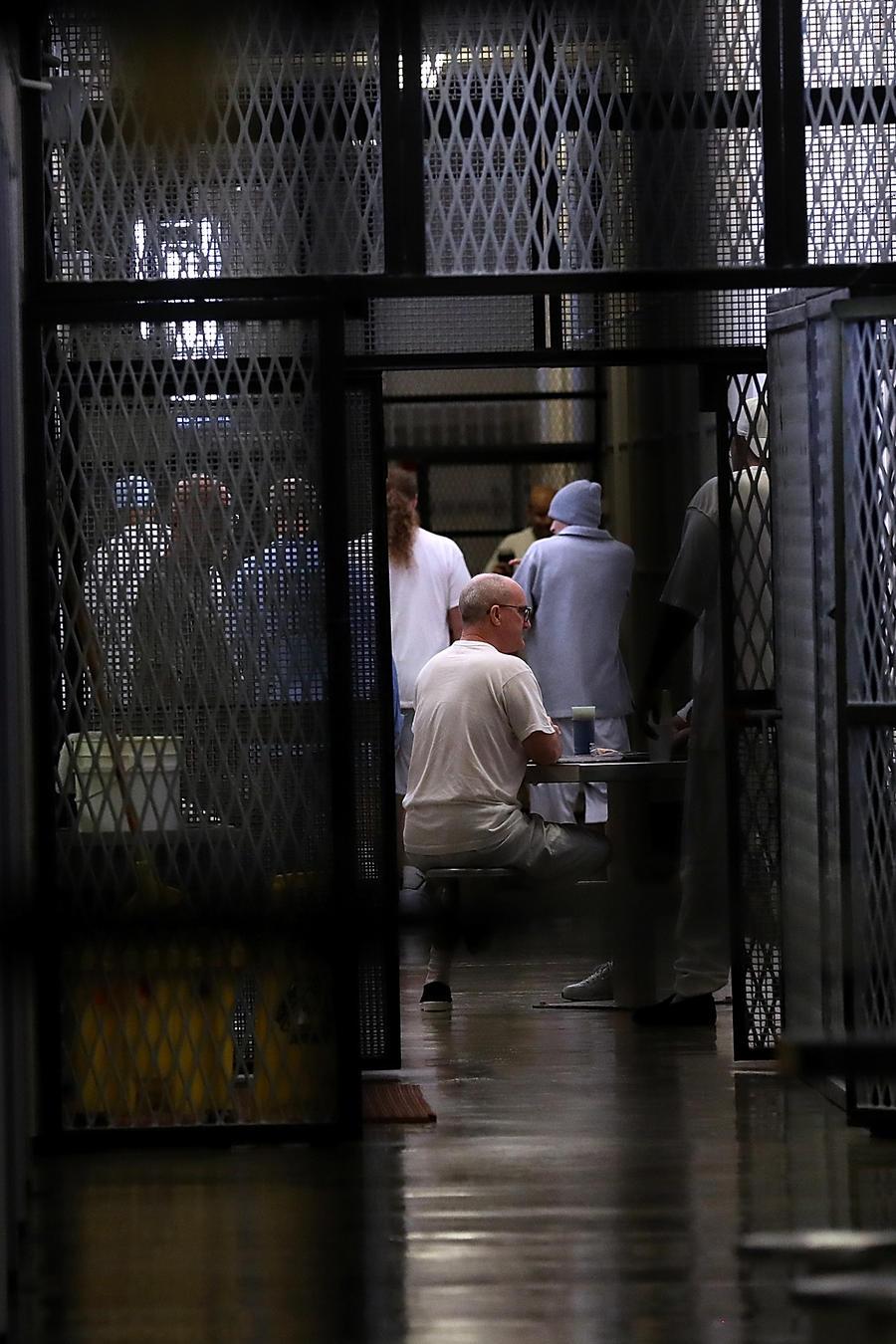 Presos en una cárcel estatal de California (imagen de archivo).