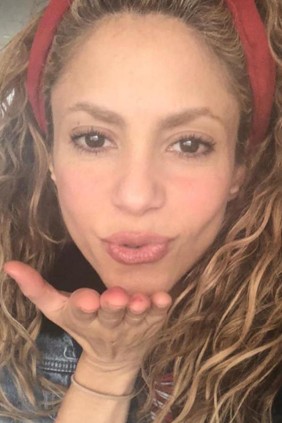 "Shakira por fin conoció a su ""gemela"" venezolana"