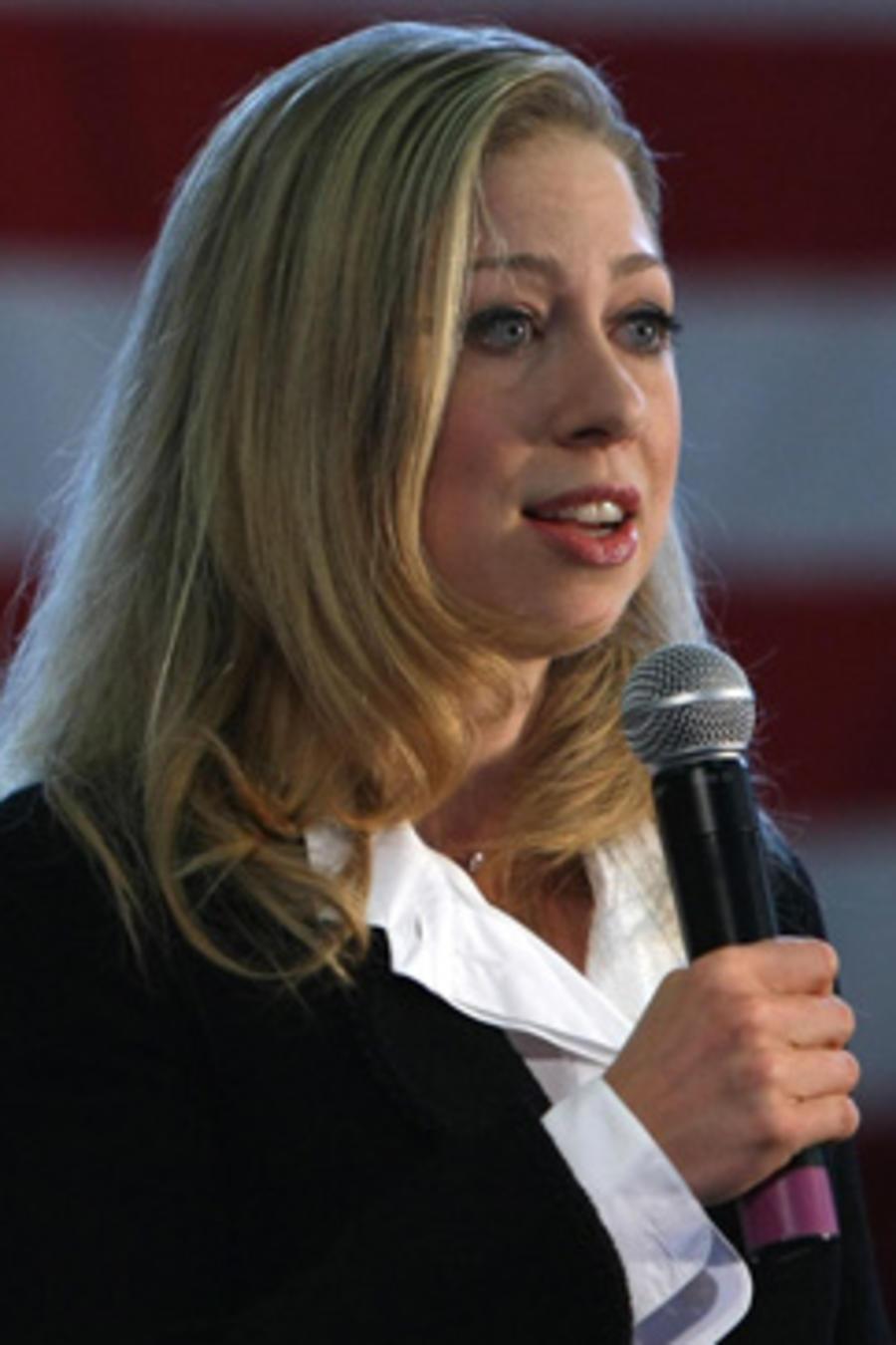 Chelsea Clinton se emocionó al hablar de Hillary Clinton