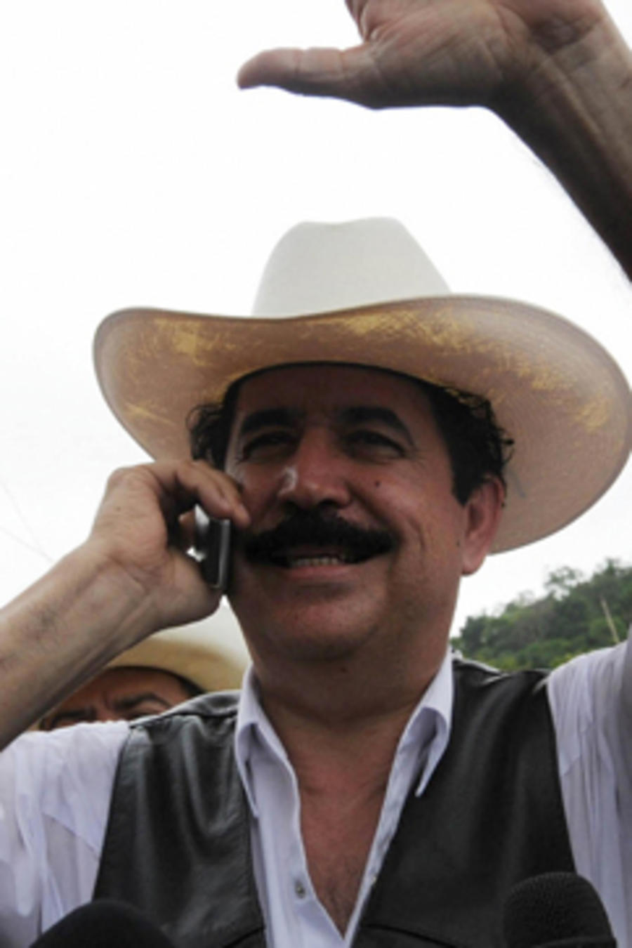 Manuel Zelaya, en una imagen de archivo.