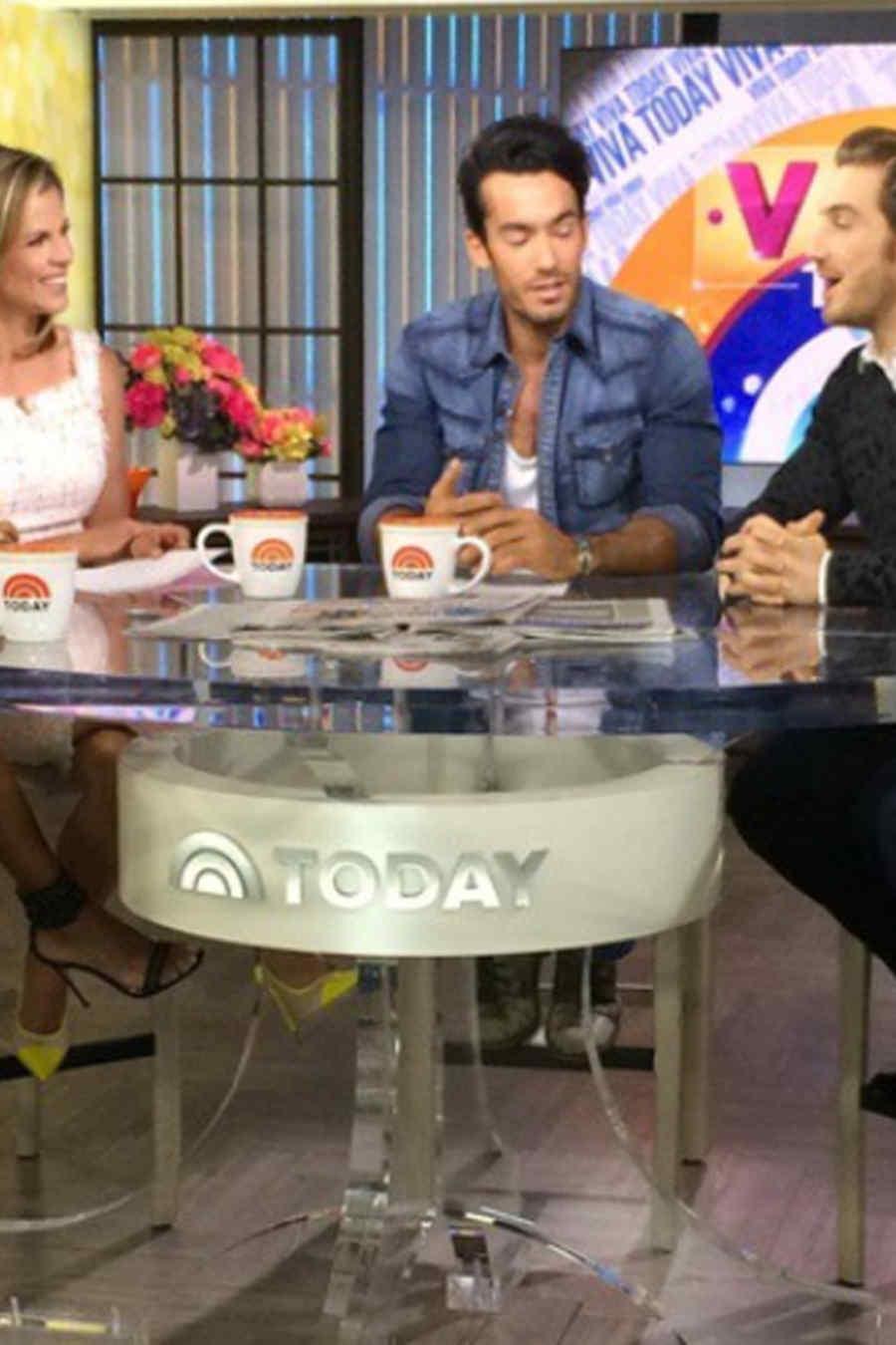 Eugenio Siller, Aarón Díaz y Rafael Amaya en 'Today Show'