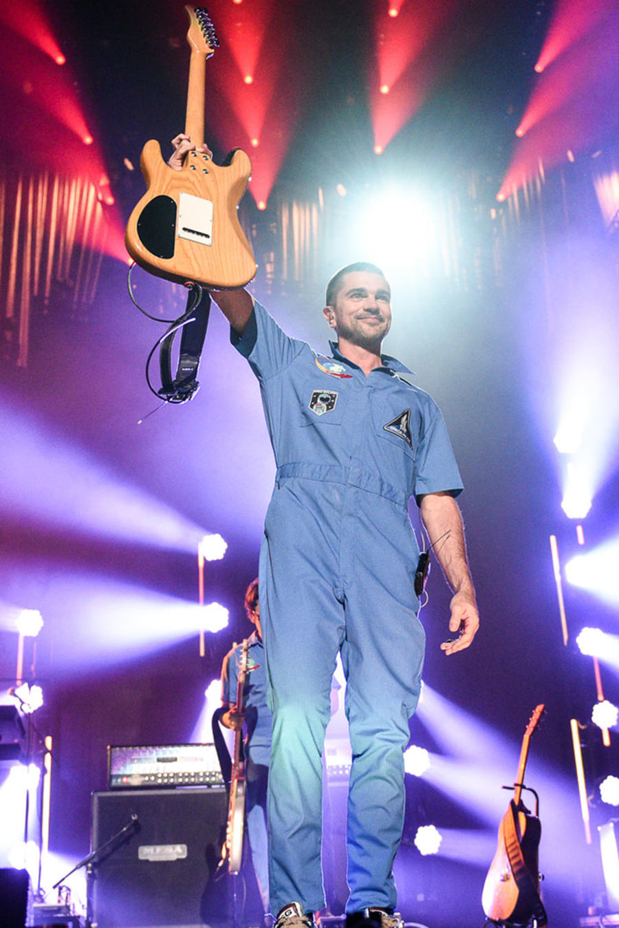 Juanes despidiendose de iHeartRadio Fiesta Latina