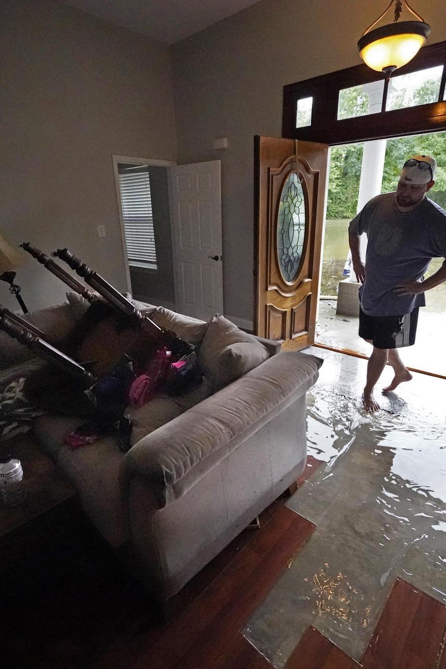 Tormenta Claudette en Louisiana