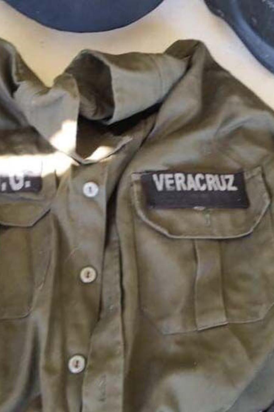 Parte del material decomisado tenía la insignia del Jalisco Nueva Generación