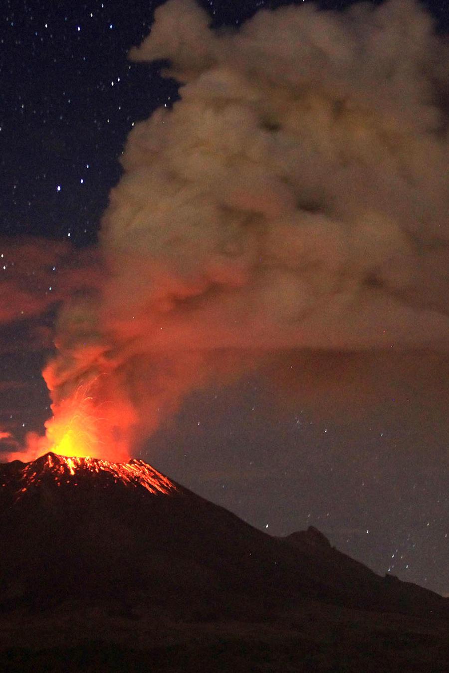 volcan popocatepetl mexico