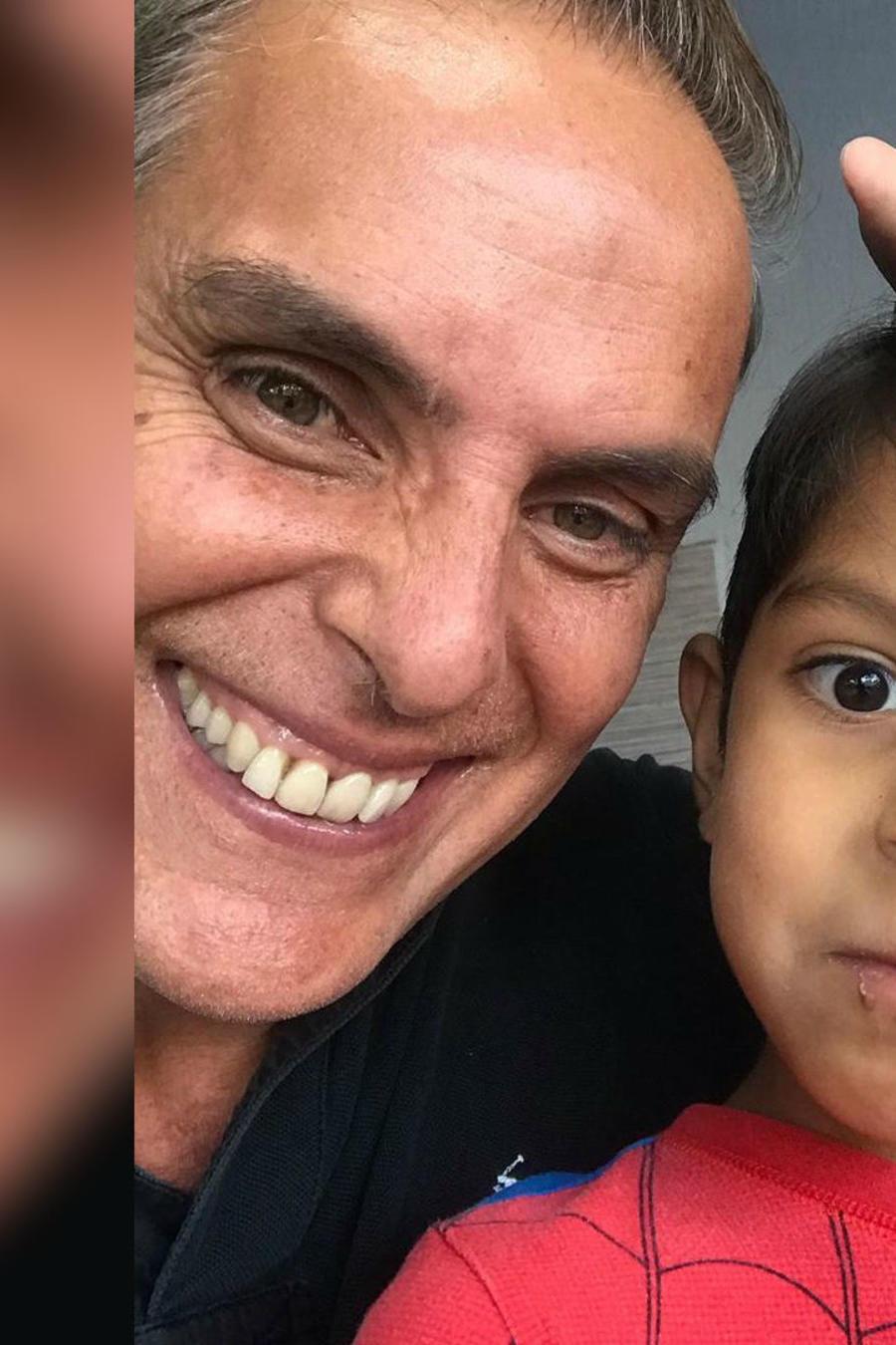 Xavier Ortiz y su hijo, Xavi
