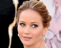 Un look angelical para Lawrence durante los Oscars del 2013.
