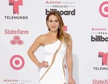 La alfombra de los Premios Billboard 2015