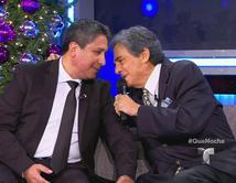 El Santa Claus ecuatoriano de Nueva York es sorprendido con la visita de su cantante favorito José José.