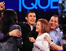 El reencuentro familiar de un joven venezolano que lleva 2 años en el NAVY de EE.UU. y el mismo tiempo sin verlos.