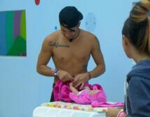 Cuidando a su bebé Catalina
