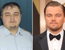 Vota aquí si piensas que este hombre se parece al actor Leonardo DiCaprio.