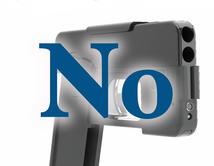 Estas pistolas podrían esconderse fácilmente si caen en las manos equivocadas