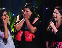 """La cantante del """"Ring de boxeo"""" recibió un regalo de """"Canelo"""" Álvarez."""