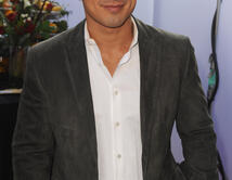 Mario Lopez attends IRIS, A Journey Through the World of Cinema by Cirque du Soleil premiere