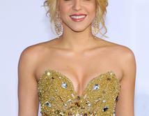 Shakira arrives at the 12th annual Latin GRAMMY Awards