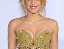 Shakira arrives at the 12th annual Latin GRAMMY Awards