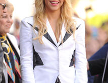 Shakira is honored on The Hollywood Walk Of Fame