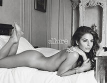 These celebrities posed naked for the annual 'Allure Simply Naked' issue.  Who looks better naked?
