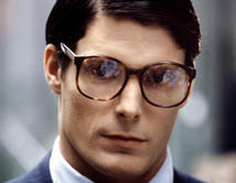 "Christopher Reeve as Clark Kent in ""Superman"", a reporter for the Daily Planet. Picture courtesy of http://www.wordpress.com"