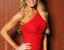 Gretchen Rossi as Debralee Anderson in Mia Mundo, the kind of woman who knows what she wants and takes it.